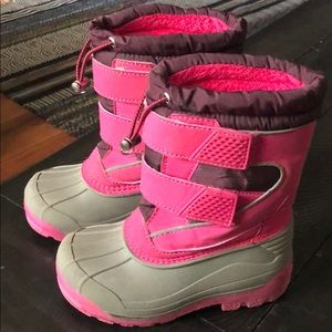 Girls size 10 Lands End Winter Boots